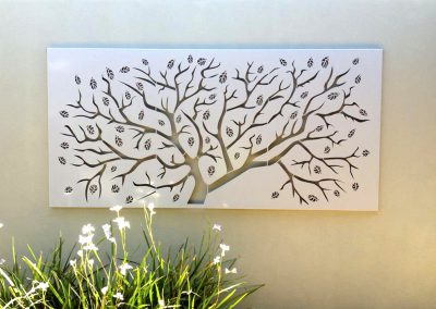 Outdoor Tree Wall Art